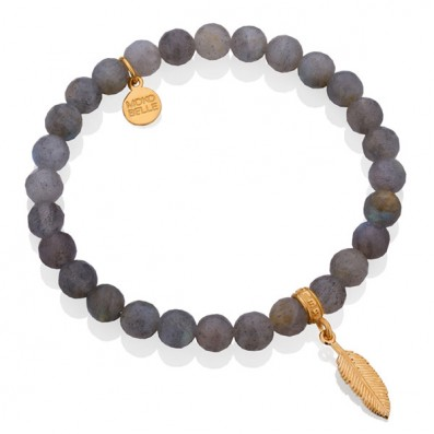 Labradorites bracelet with...