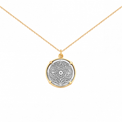 Necklace with Mokobelle talisman
