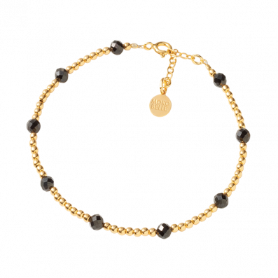 Gloria bracelet with beads and spinels