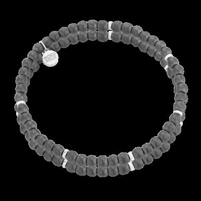 Matt hematites bracelet