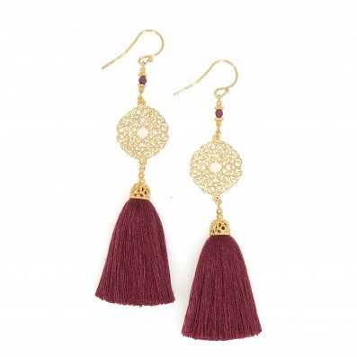 EARRINGS WITH PALOMA...