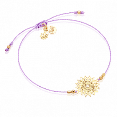 Bracelet with crown chakra