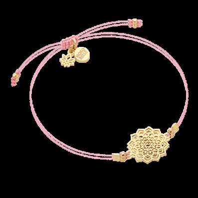 Bracelet with heart chakra