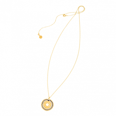 Necklace with Bianca rosette