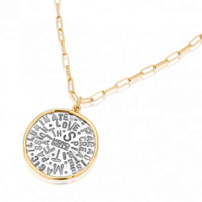 Chain necklace with Spirit talisman