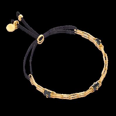 Bransoletka z łańcuszkiem i cyrkoniami