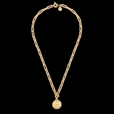 Naszyjnik łańcuch z chińskim zodiakiem