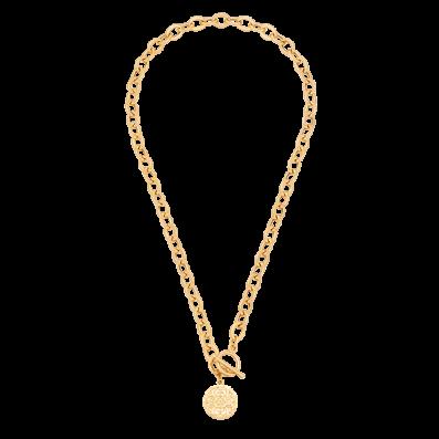 Naszyjnik z łańcucha z medalikiem Mokobelle
