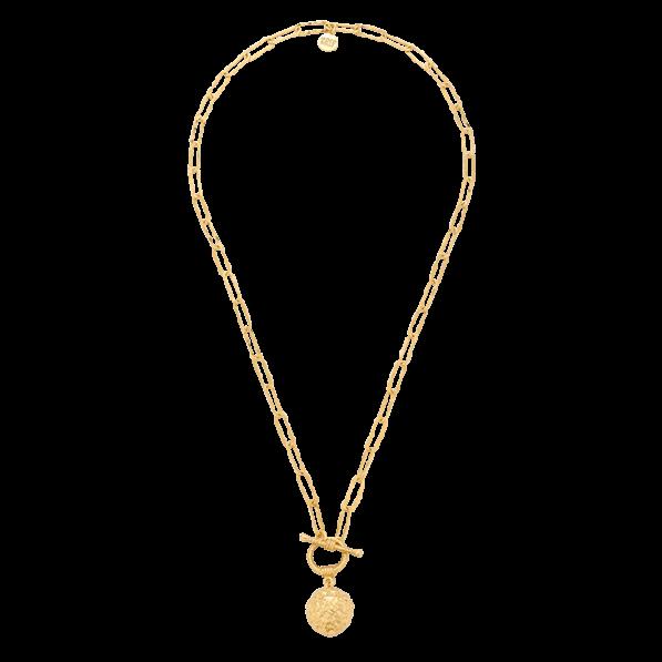 Naszyjnik łańcuch z kulą Wenus