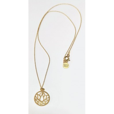 Necklace with Lotos rosette