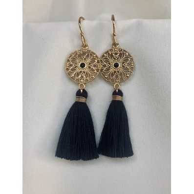 Aurelia earrings with tassels