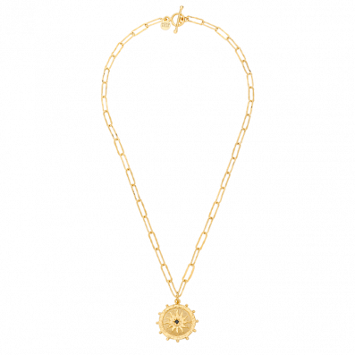 Chain necklace with Solaris pendant