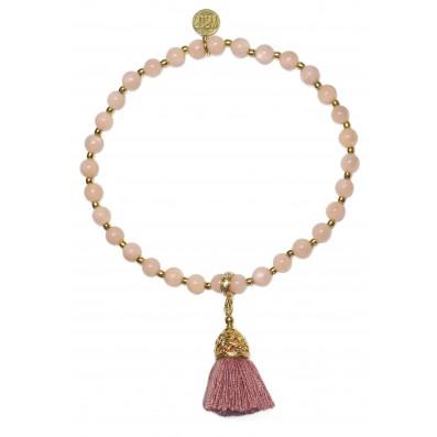 Sunstones bracelet with tassel