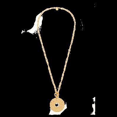 Naszyjnik łańcuch z rozetą Fortuna