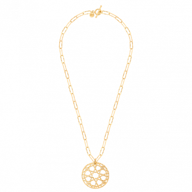 Chain necklace with Sierra rosette