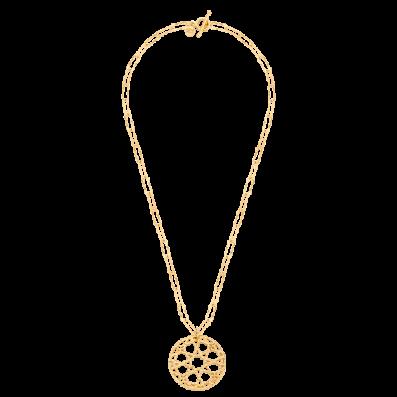 Naszyjnik łańcuch z rozetąSierra