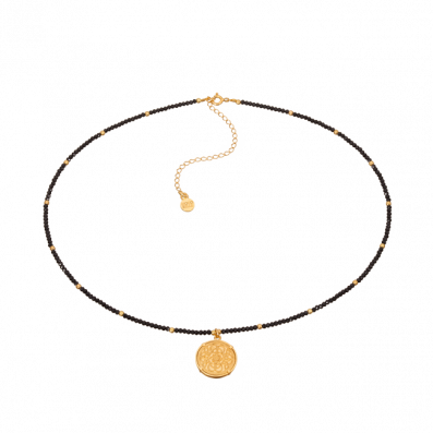 Spinels choker with Mokobelle pendant