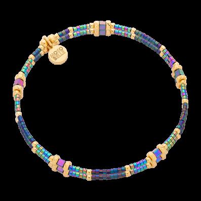 Bransoletka z kolorowych hematytów