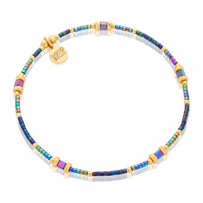 Colorful hematites bracelet