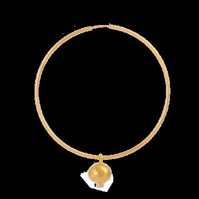 Mono-kolczyk z zawieszką z rubinem