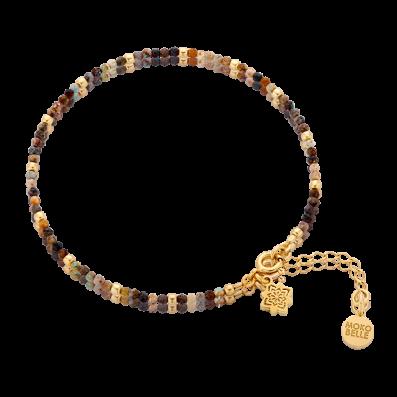 Chrysocoles bracelet with Dhalia rosette